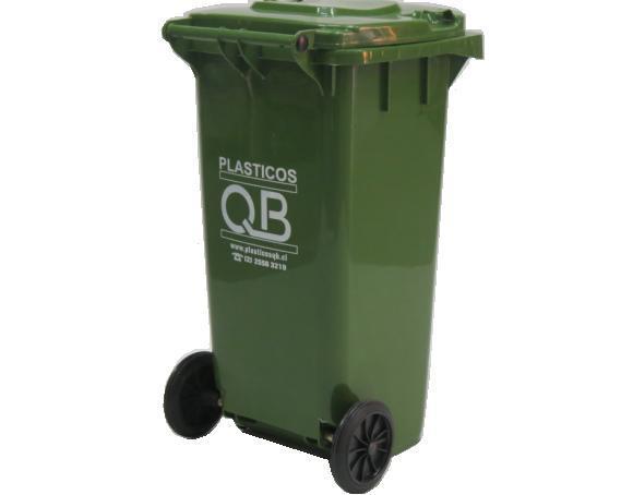 Aseo Minusvalidos Dimensiones:Contenedor de basura 120 litros